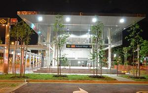 The Holland Village MRT station brings you to major tourist attractions