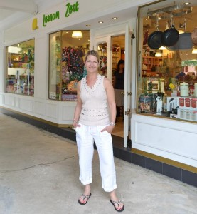 Elizabeth Wilson, proprietress of Lemon Zest, a culinary lifestyle store in Jalan Merah Saga